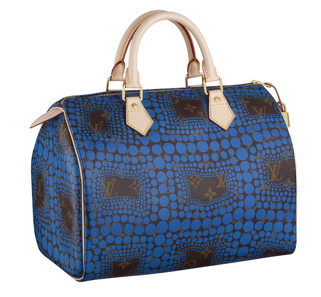 Speedy Monogram Town blue