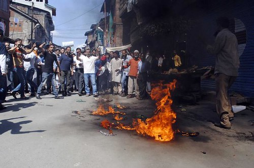 Anti-America protests in Kashmir by Faisal Khan (1)