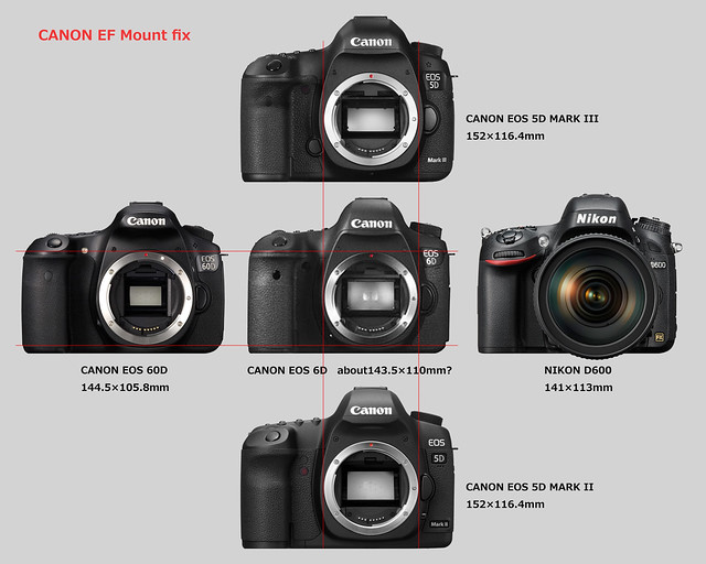CANON EOS 6D size forecast_1/2