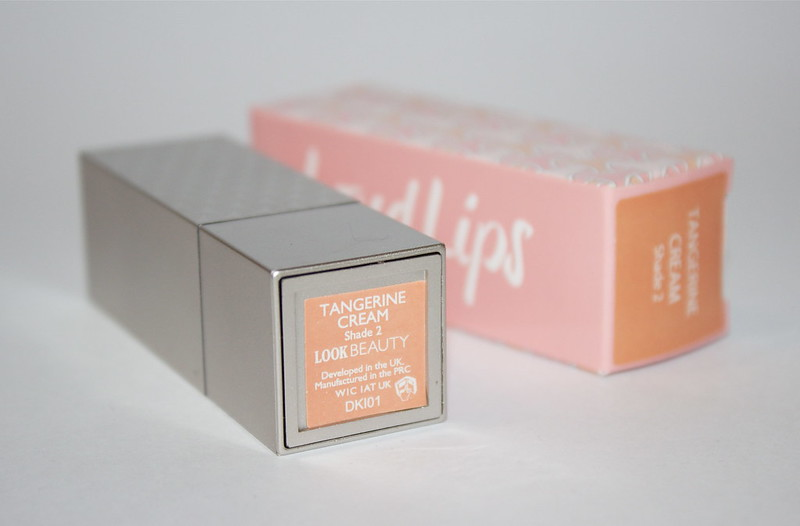 LOOK Beauty lipstick - Tangerine Cream