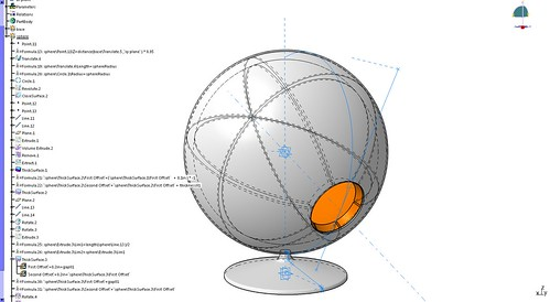 12_Catia Practice_Ball Chair