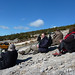 Watching Griffon Vultures and Lammergeiers