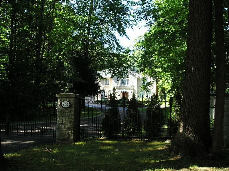 Gordon Woods Mississauga mansion