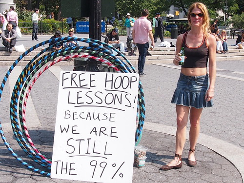 Ann Humphreys, 42, hoola hoop teacher