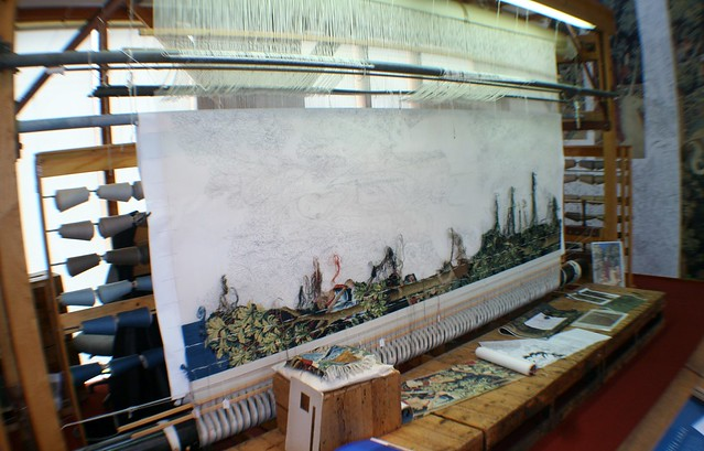 Tapestry Studio, Stirling Castle
