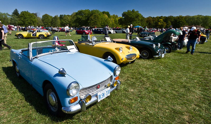Lots of pics: British Car Day 2012