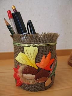 Осень карандашница