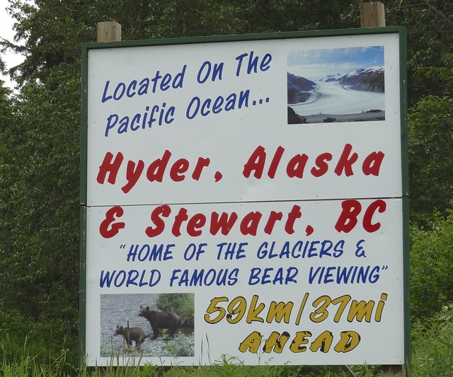Hyder Alaska Sign