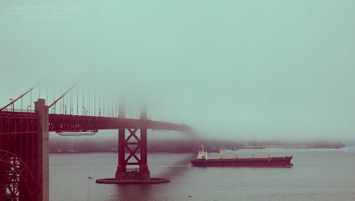 Foggy Golden Gate