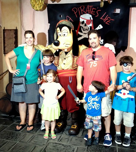 Pirates at Disney