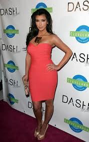 Kim Kardashian Bandage Dress Herve Leger Celebrity Style Women's Fashion