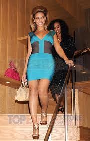 Beyonce Bandage Dress Herve Leger Celebrity Style Women's Fashion
