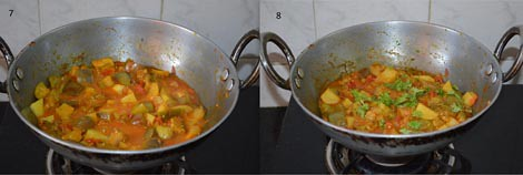 how ti make aloo baingan sabzi