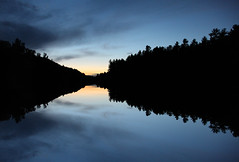 Mirror Lake in Algonquin Park by vladimir.servan