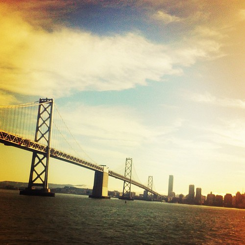 Golden Gate from the ferry. Such a good day.