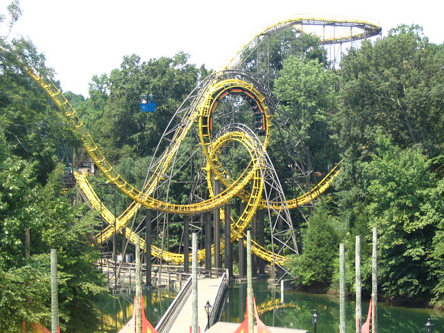 Busch Gardens Williamsburg Autos Weblog