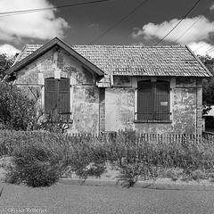 Vendée en noir & blanc, format carré