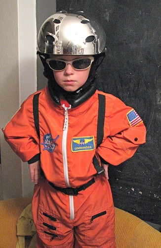 Charlie as Major Tom