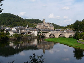 Le Lot à Estaing