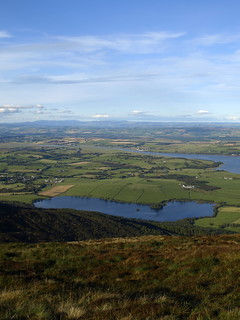 Loch Kindar and Glencaple from Criffel