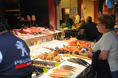 Fish Market at Trouville