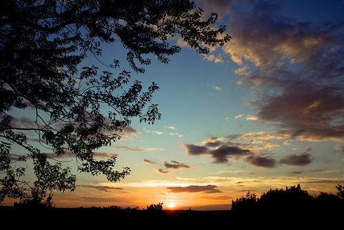 sunset clouds syracuse skyonfire