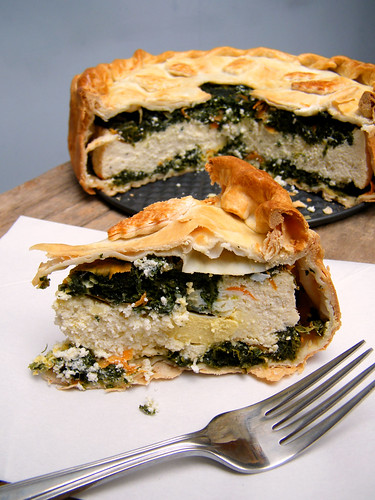 Tarta pascualina | Spinach Pie III by katiemetz, on Flickr