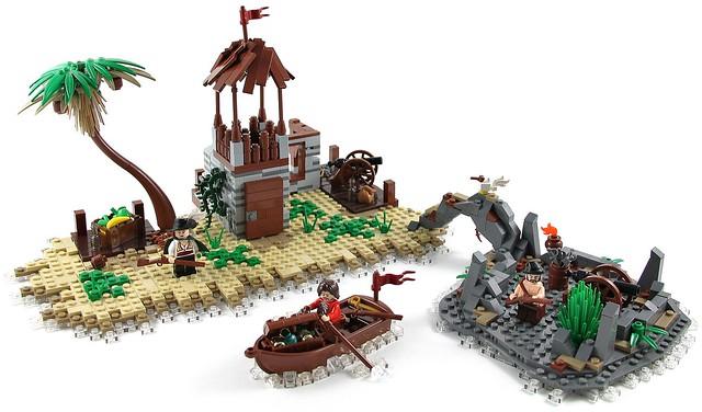 Afficher le sujet c moc le lagon des pirates - Ile pirate lego ...