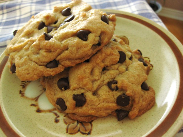 Giant Chocolate Chip Cookies // I bake 'em big | Flickr - Photo ...