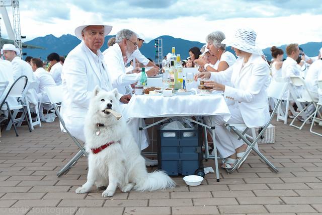 2012 Vancouver Diner en Blanc