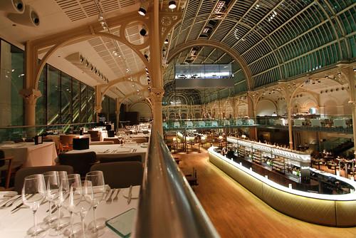 Paul hamlyn hall balconies restaurant royal opera house for Restaurants with balcony