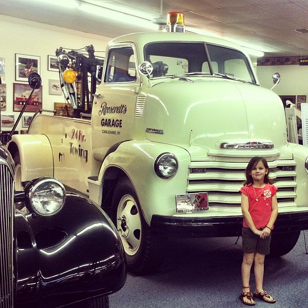 Did you know that the tow truck was invented in Chattanooga in the early 1900's? And that there is a Tow Truck Museum? We had a very happy boy on this outing!