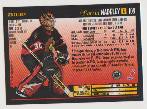 OPC Darrin Madeley back