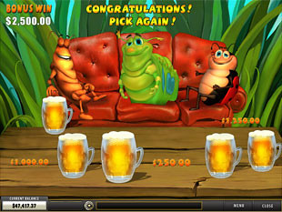 Happy Bugs Beer Bonus