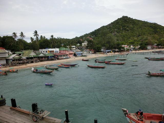 Koh Tao Pier (タオ島港桟橋)