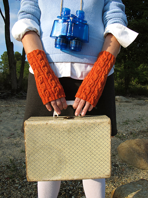 Fiery Searcher Mitts, Suitcase