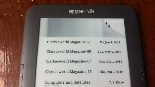 Kindle display artifacts