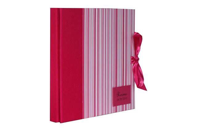 Álbum Médio Pink Listrado