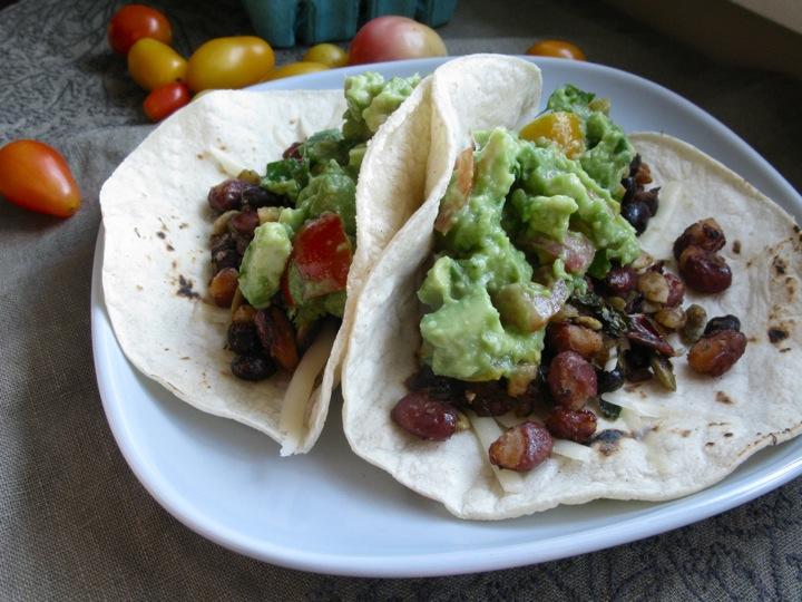 nectarine guacamole tacos 006