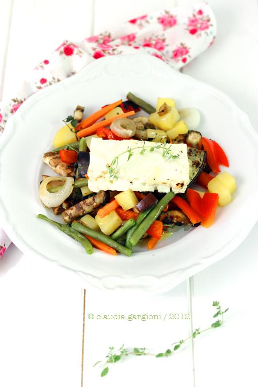 verdure grigliate con feta