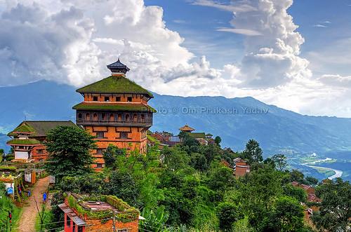 nepal building heritage architecture landscape palace historic hdr hdri opsphotos bidur centralregion nuwakot nikon2470mm28