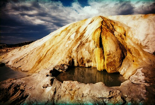 Travertine Hot Springs. No Big Deal.