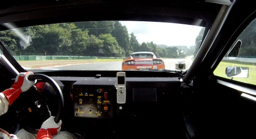 「日産リーフ ニスモ RC」EVレース車載映像 コーナー
