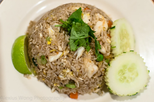 Lump Crab Meat Fried Rice