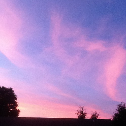 Painted sky. #nofilter
