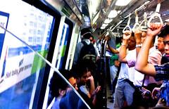 シンガポール 地下鉄車内