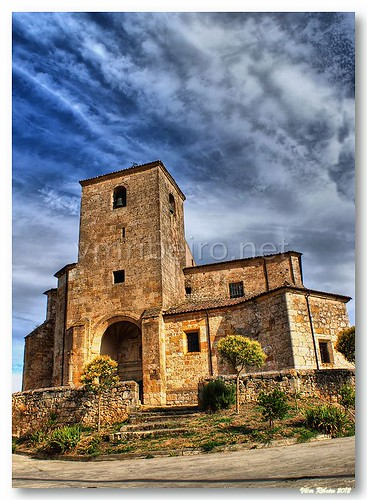 Igreja de Cascajares de Bureba by VRfoto
