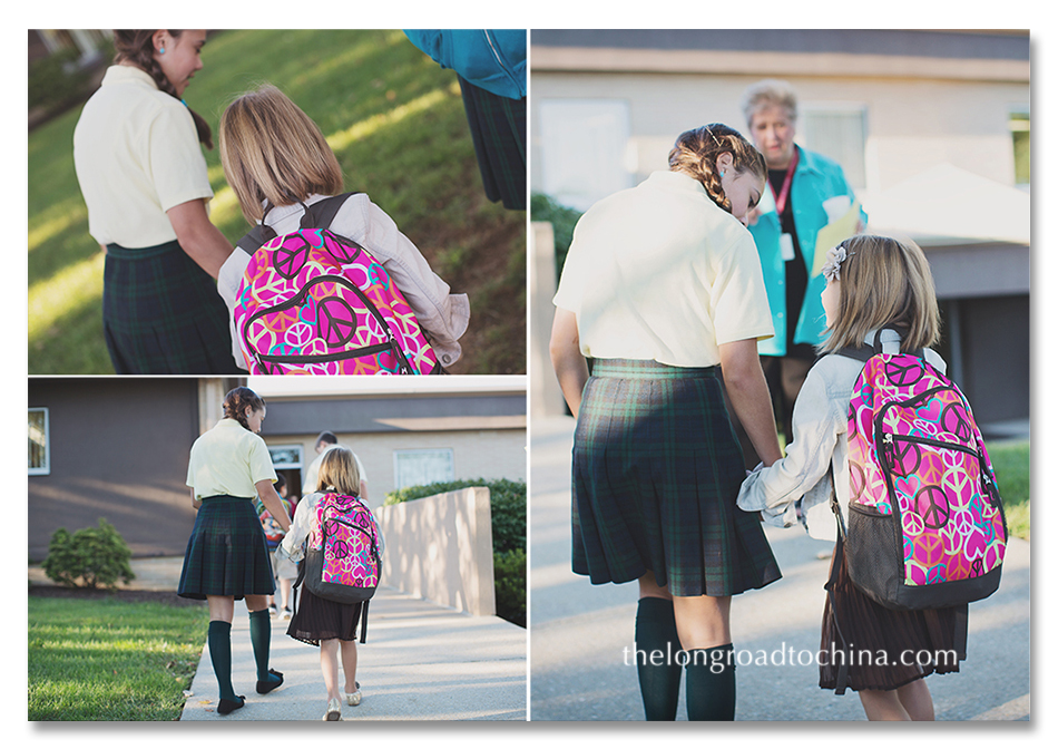 escorted by an 8th grader collage