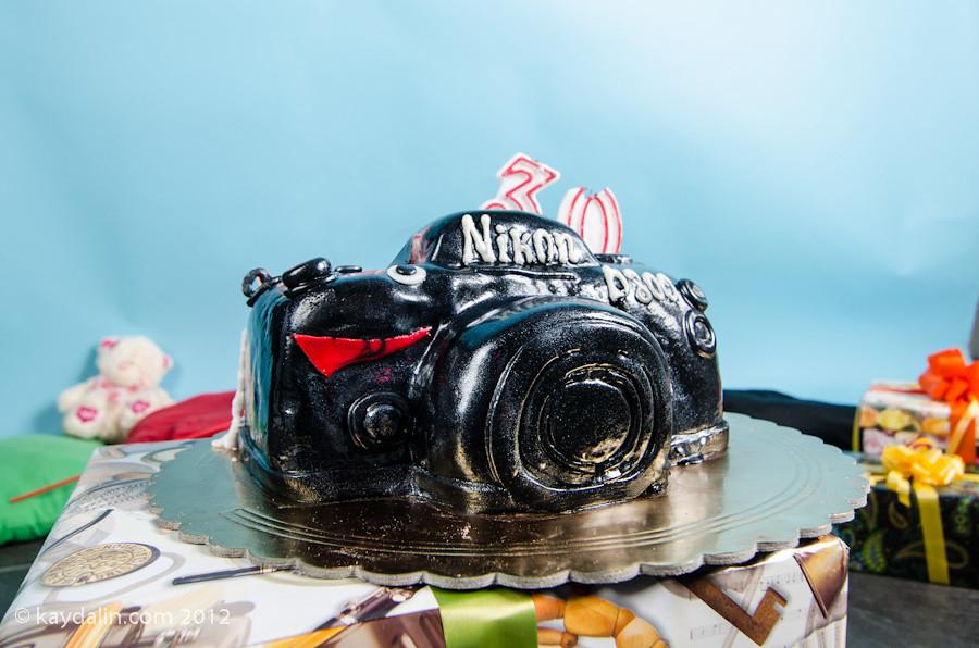 Очень красивый и оригинальный торт фото 10