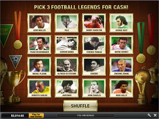 Top Trumps Football Legends Wall of Fame Bonus